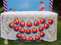 Sailor/Nautical theme Sailor Birthday Bunting