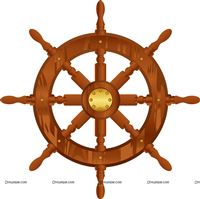 Sailor/Nautical theme Ship wheel