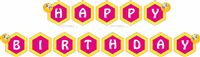 Happy Birthday Banners - Smiley | Emoji theme birthday party supplies