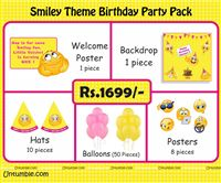 Smiley theme Smiley Theme Mini Party Pack
