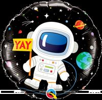 "Space theme  - Space Astronaut Foil Balloon (18"")"