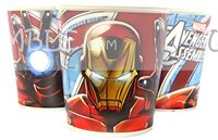 Superhero theme Iron Man Paper Cups (Pack of 10)