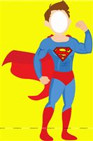 Superhero theme  - Boy superhero photobooth