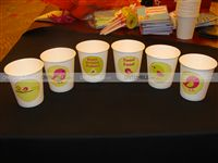 Cups - Theme based - Sweet Tweet Theme Birthday Party