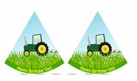 Tractor theme - Tractor theme Hats