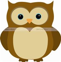 Little Star theme Owl cutout