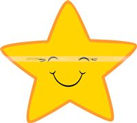 Little Star theme Star Cutout