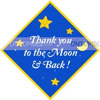 Little Star theme Thank you cards
