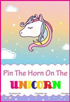 Unicorn theme - Unicorn Theme Game Poster