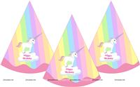 Unicorn theme - Unicorn Theme Hats
