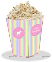 Unicorn theme - Unicorn Theme Pop Corn Cones