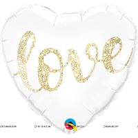 Love theme  - Love Foil Balloon
