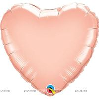 "Love theme Pink Heart Foil Balloon (18"")"