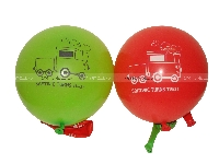 Printed Balloons - Vehicles theme birthday party supplies