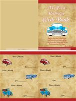 Vintage car wish book - Vintage Car Party Supplies