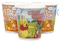 Winnie Pooh theme Winnie The Pooh Cups (Pack of 10)