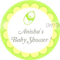 Yellow Baby Shower theme Yellow & Green Baby Shower