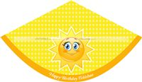 My Sunshine theme  - You are My Sunshine Hats